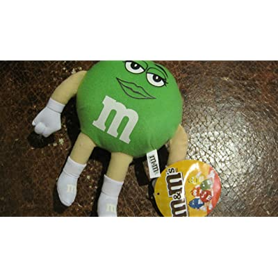 "8"" Green M&ms Candy Character Plush: Toys & Games"