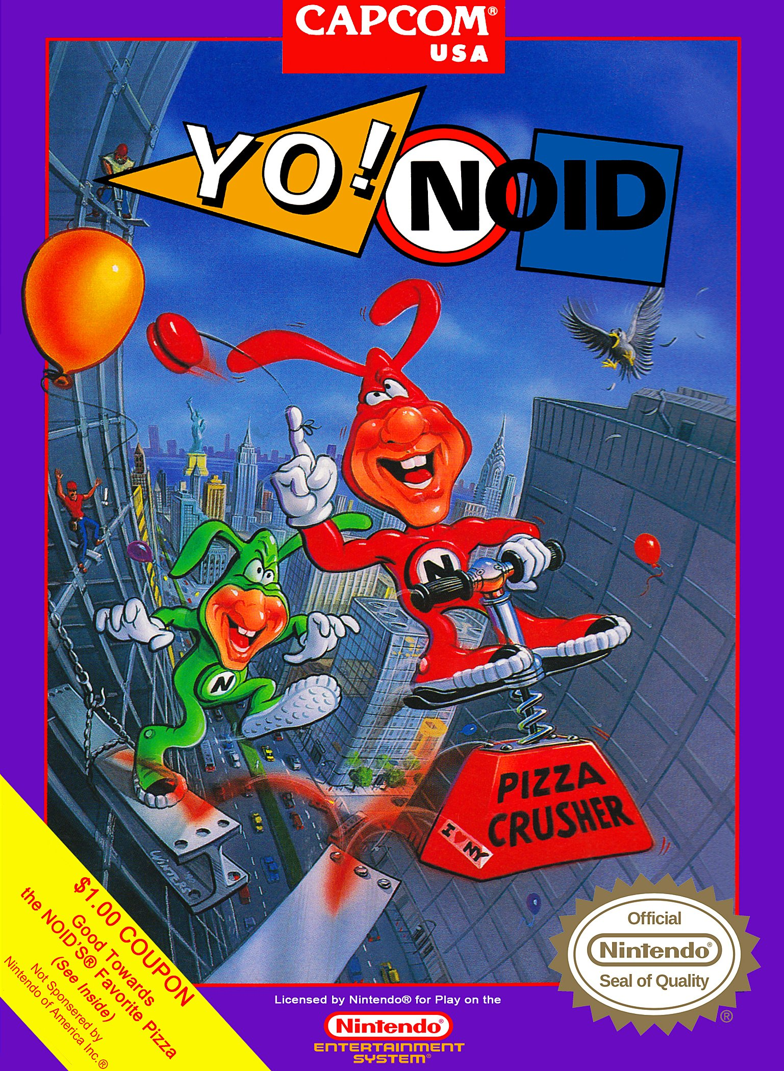 Amazon.com: Yo! Noid: Video Games