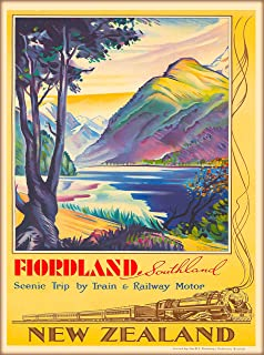 White Frame Framed Ireland By CIE Railway Travel Poster A4 A3 Size In Black