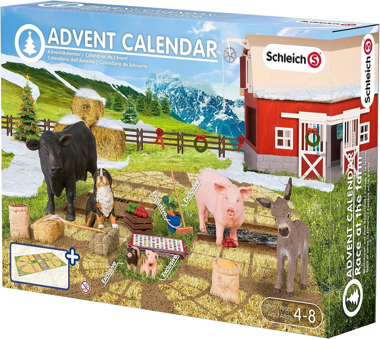 Schleich - Calendario de adviento: Carreras en la granja (97052 ...