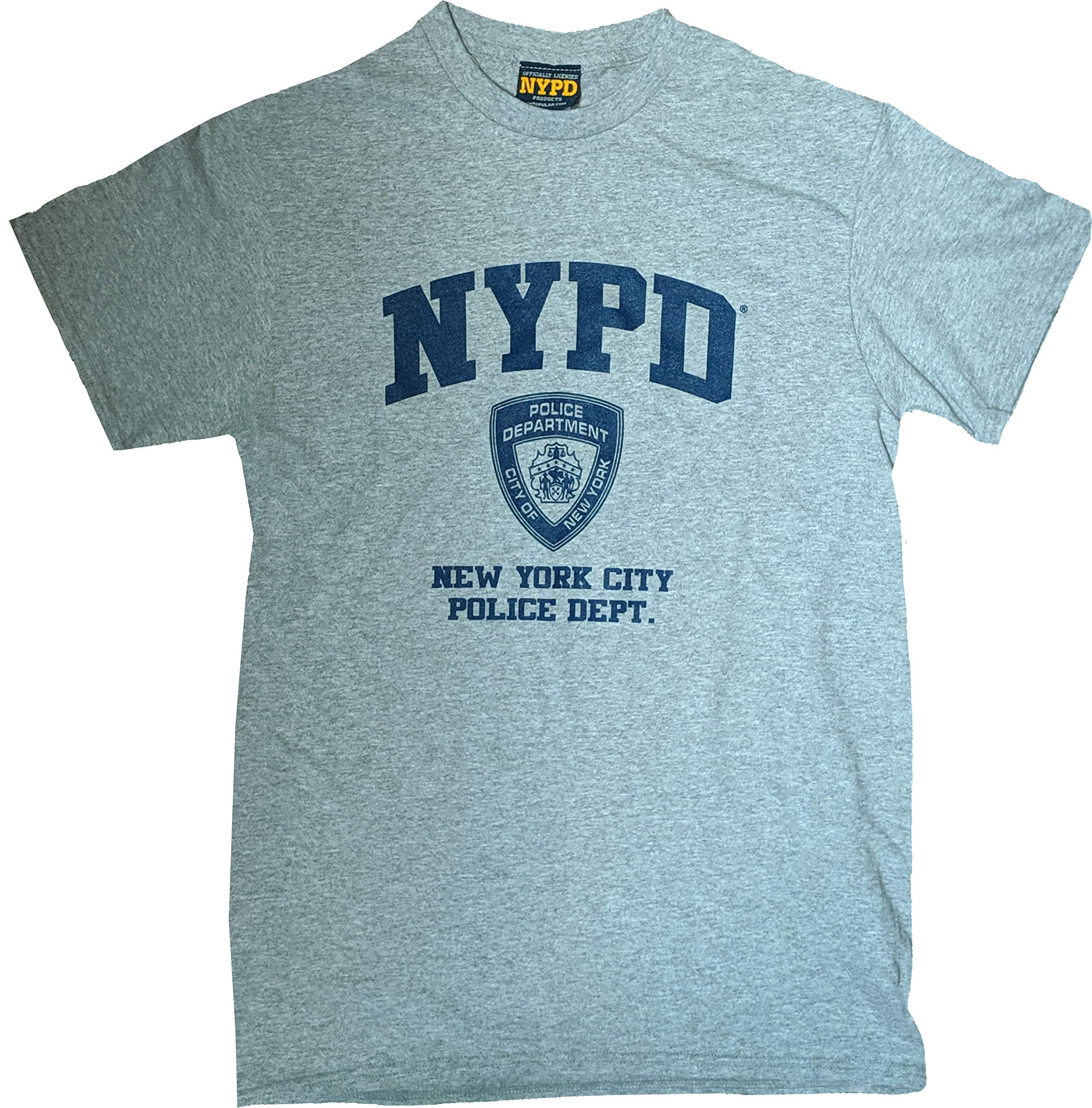NYPD Ladies Sweatpants New York Police Training Pants Navy Blue Badge Yellow New