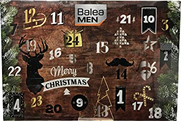 Beauty Weihnachtskalender.Balea Men Man Adventskalender 2018 Advent Calendar Herren Beauty Kosmetik Limitiert