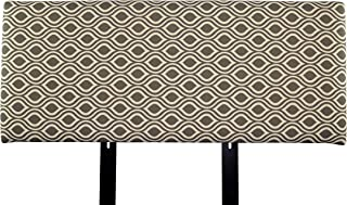 product image for MJL Furniture Designs Alice Padded Bedroom Headboard Contemporary Styled Bedroom Décor, Nicole Series Headboard, Gray Linen Finish, Full Sized, USA Made