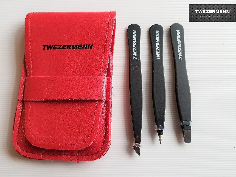 TWEZERMENN - Juego de 3 piezas para mesas, color rojo