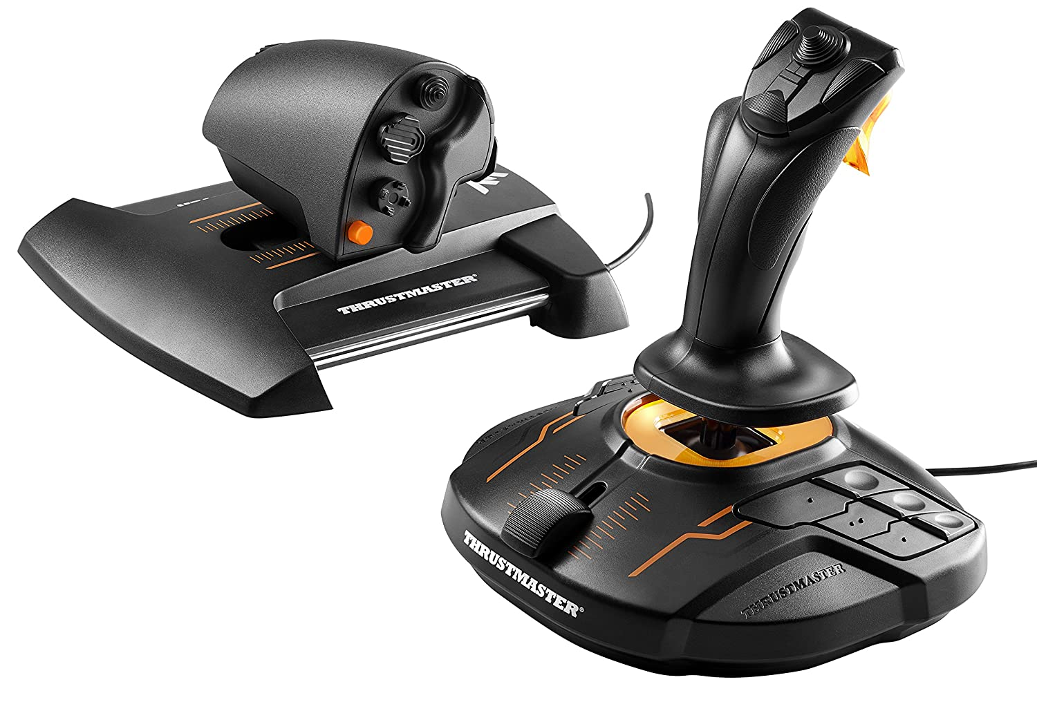 Thrustmaster T16000M FCS Flight Pack (Hotas System inkl. Pedale, T.A.R.G.E.T Software, PC) 2960782