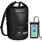 RUNCL Waterproof Dry Bag ANCOHUMA, Dry Compression Sack 10/20/30/40L, Dry Backpack with Waterproof Phone Case…