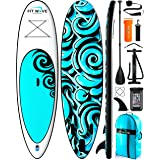 FITPULSE Paddle Board Inflatable Paddle Boards for Adults Inflatable Sup Inflatable Stand Up Paddle Board Inflatable Paddle B