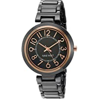 Nine West NW1892SVRG Reloj Análogo para Mujer