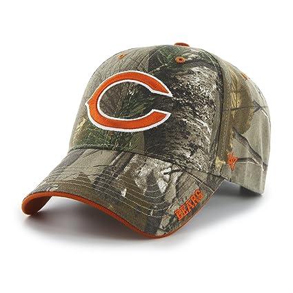 037069820bd Amazon.com    47 NFL Chicago Bears Frost MVP Camo Adjustable Hat ...