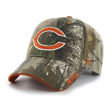 f58c5efb9cb Amazon.com    47 NFL Chicago Bears Frost MVP Camo Adjustable Hat ...
