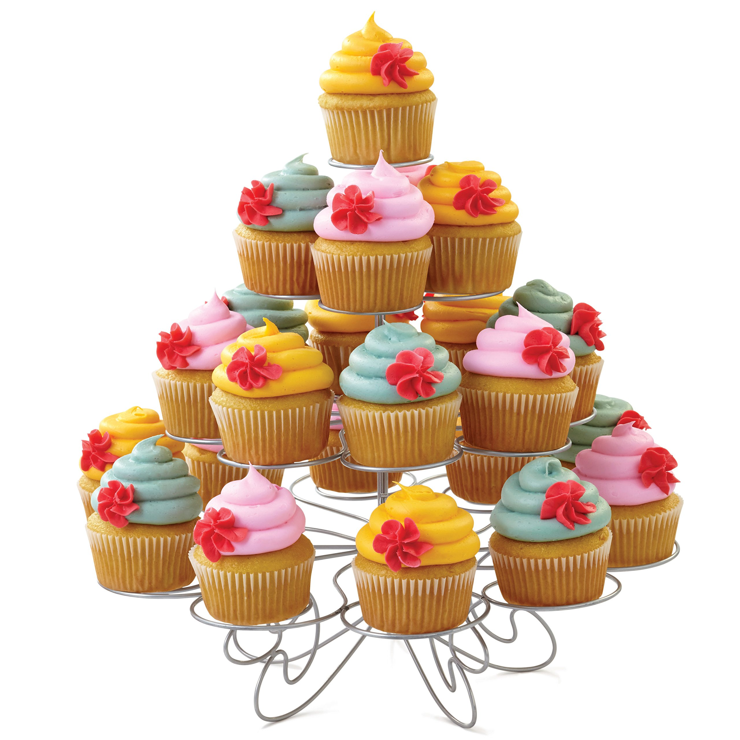 Wilton Cupcakes 'N More Cupcake Stand - Four Tier Dessert Stand