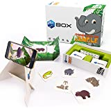 BIMBOX Educational Animals Augmented Reality Memory Match Game, Arrives with a Free Companion iPhone/iPad or Android App for Extra Interactive Fun Learning