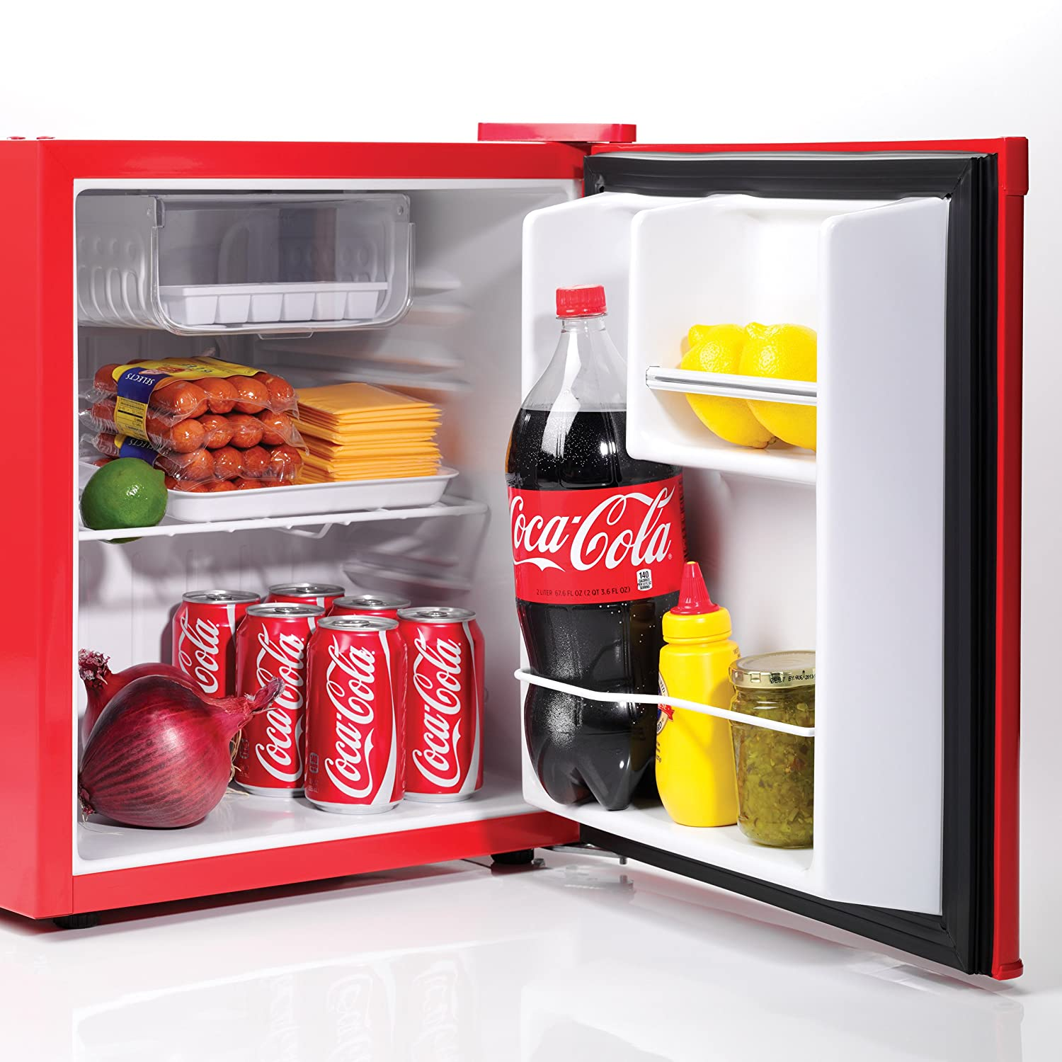 91785d45 Amazon.com: Nostalgia CRF170COKE Coca-Cola 1.7-Cubic Foot Refrigerator:  Refrigerator Magnets: Kitchen & Dining