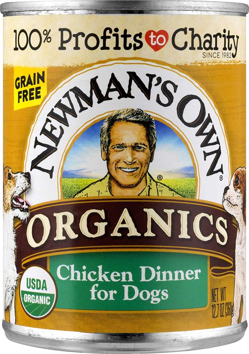 Newman'S Own Organics Chicken Dinner For Dogs