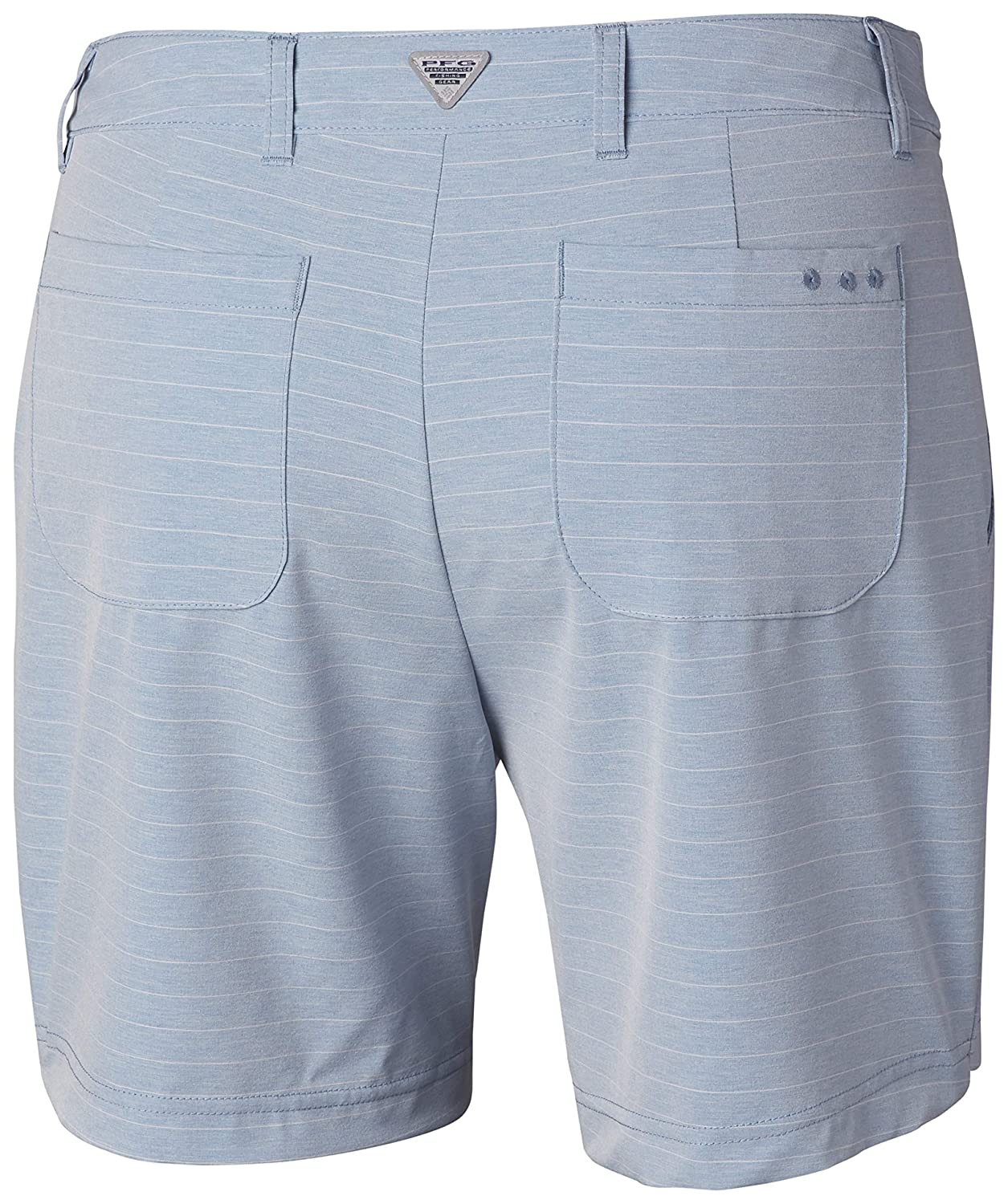 UV Protection Moisture-Wicking Columbia Womens PFG Reel Relaxed Woven Short