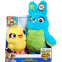 Toy Story 4 Ducky Bunny - Peluche con Aroma de Conejo de Peluche (27,9 cm)