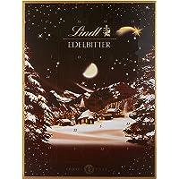 Lindt Edelbitter Adventskalender (24 verschiedene Überraschungen aus dunkler Schokolade) 250g