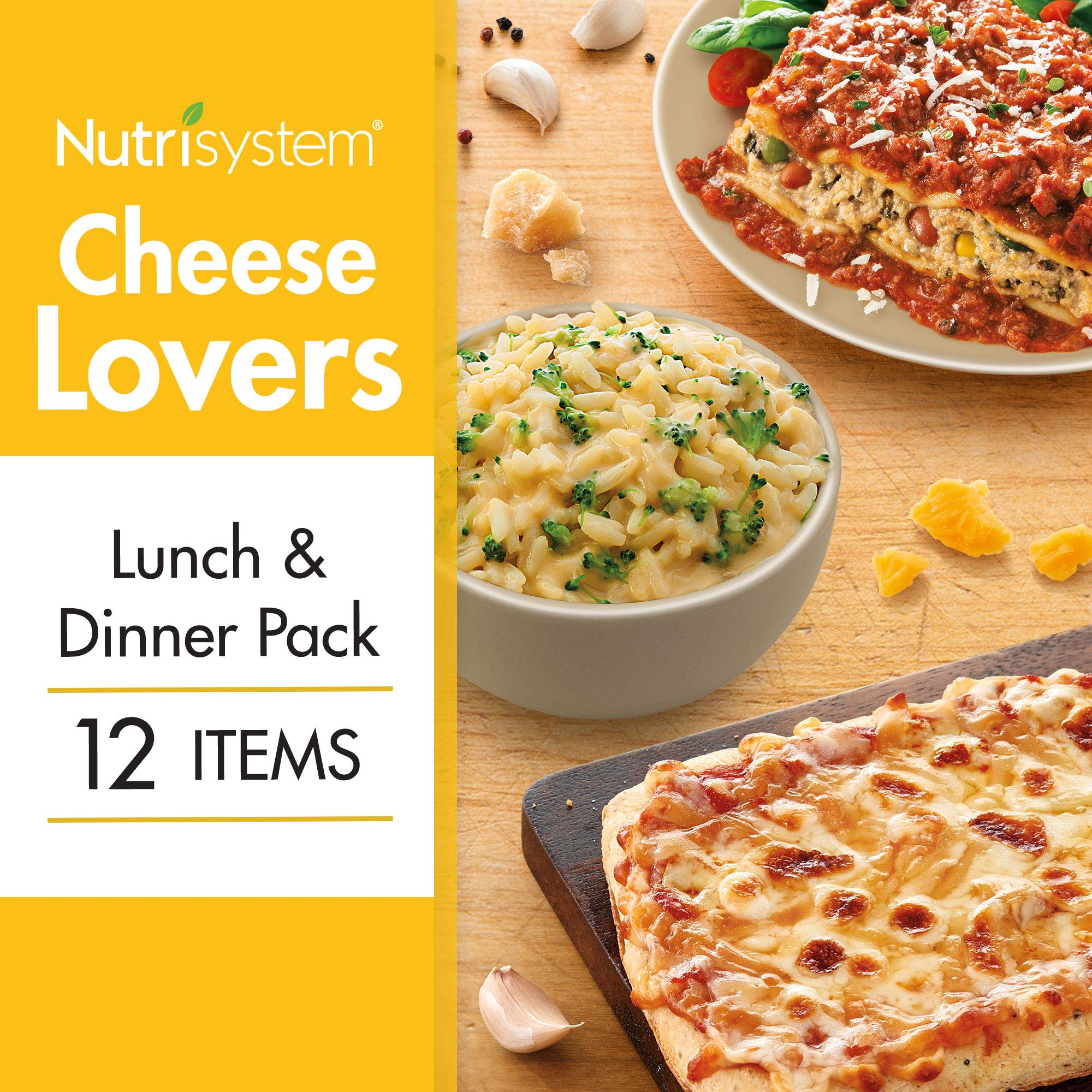 Nutrisystem® Cheese Lovers Lunch and Dinner Pack 16CT by Nutrisystem