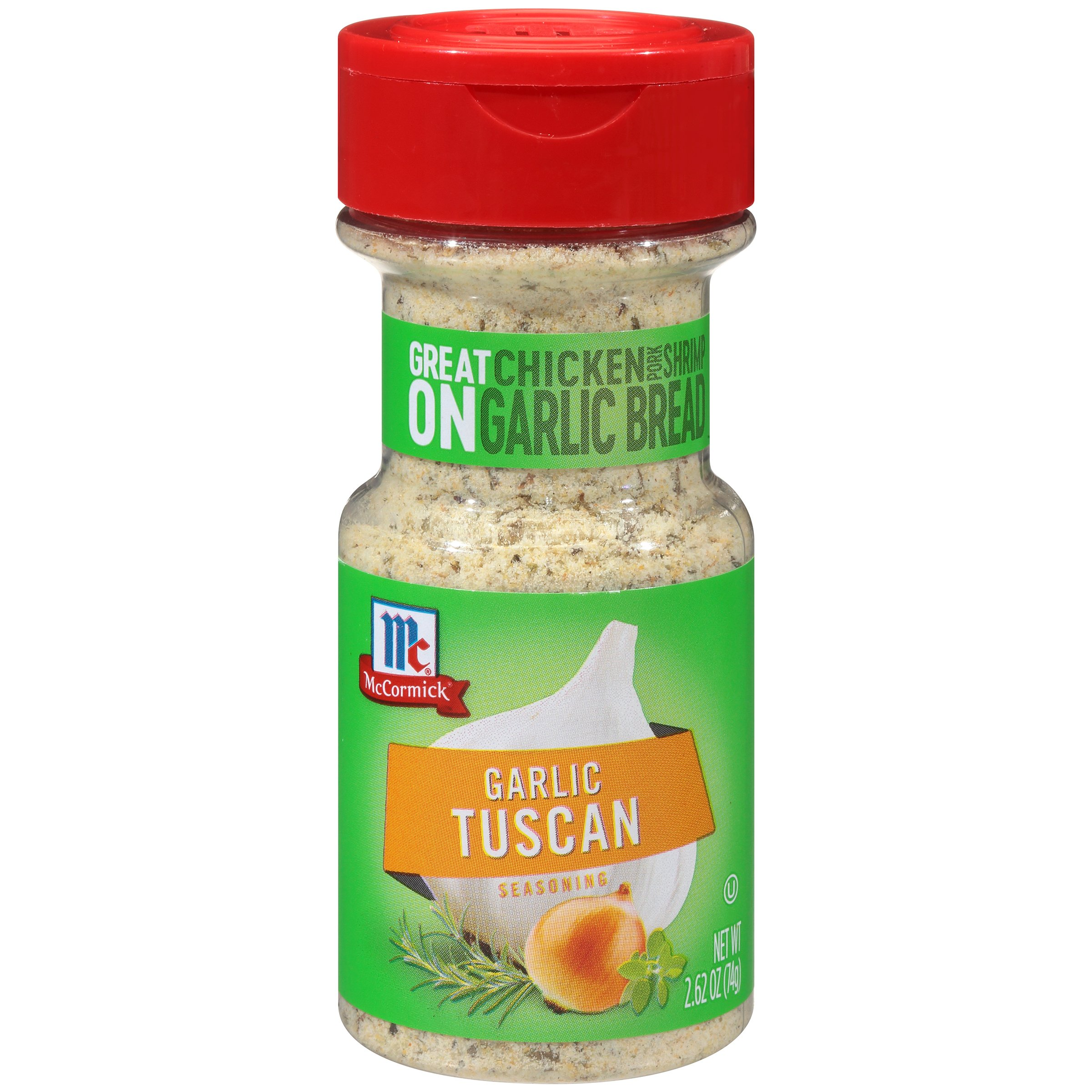 McCormick Garlic Tuscan Seasoning, 2.62 oz (Pack of 72)