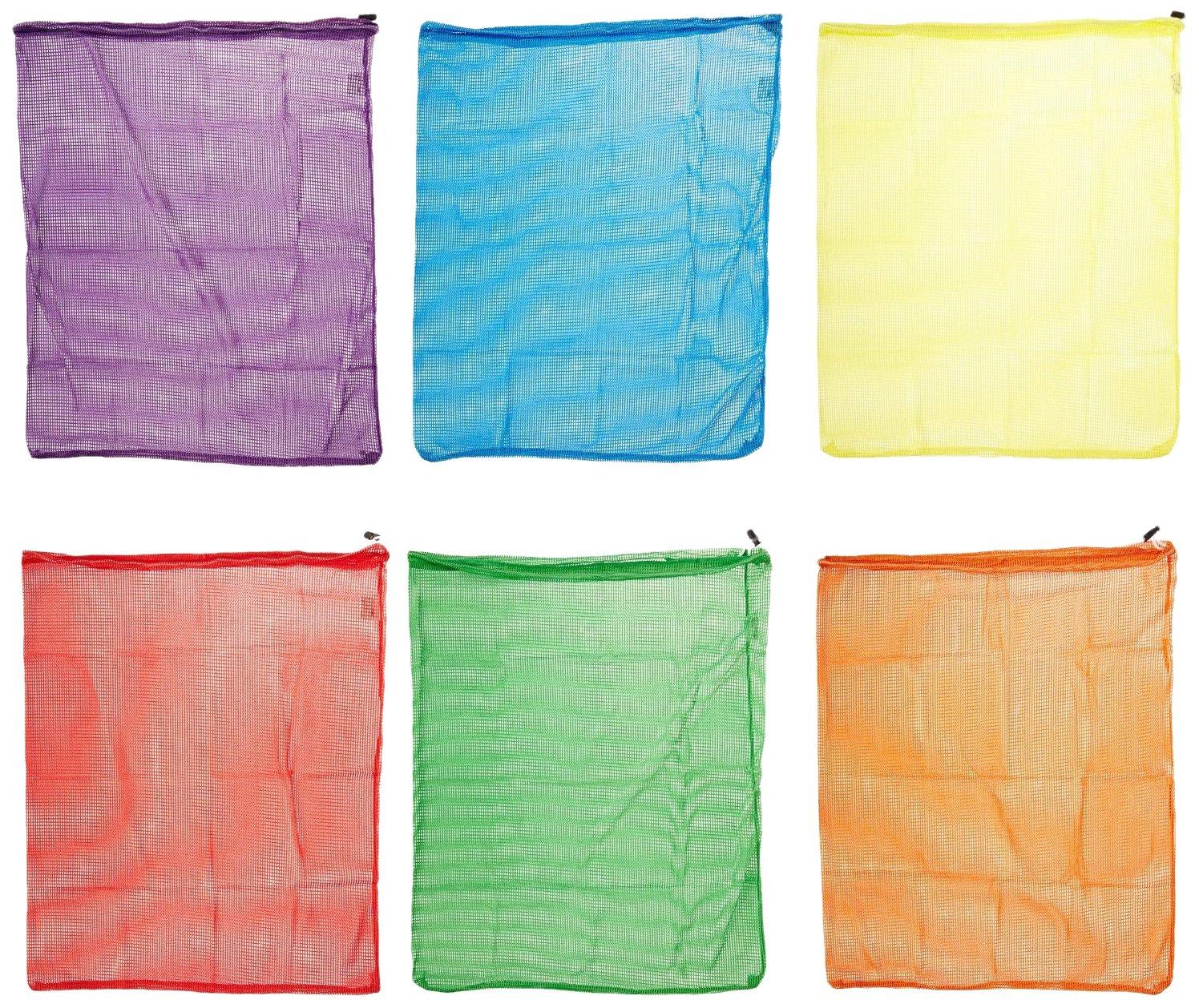 Amazon.com: Sportime Mesh Drawstring Storage Bags - 24 x 34 inches ...