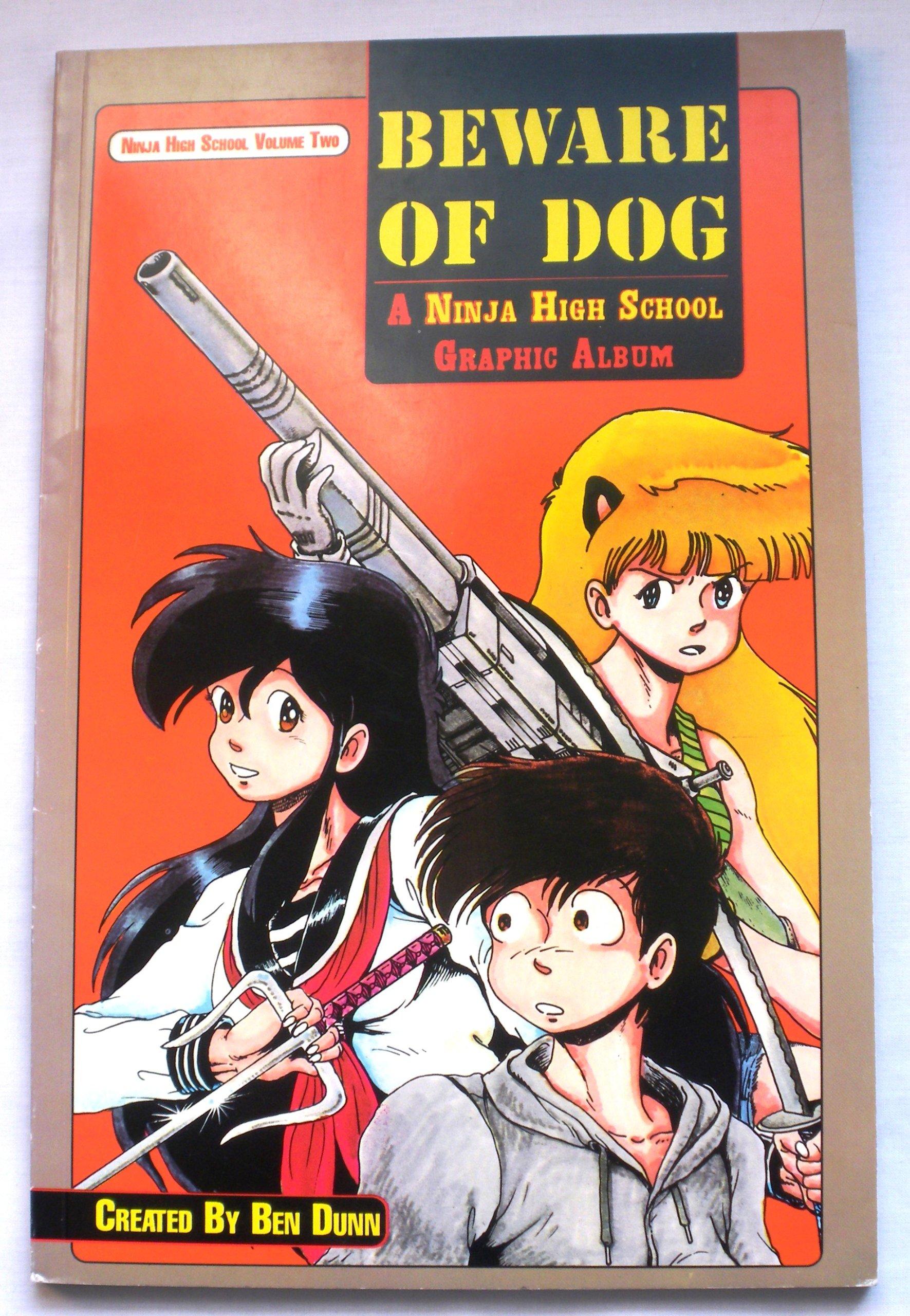 Beware of Dog: A Ninja High School Graphic Album (Ninja High ...