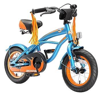Kinderfahrräder Kinderfahrrad 12Zoll Junge Jungen Kinder Fahrrad Kinderrad Blau