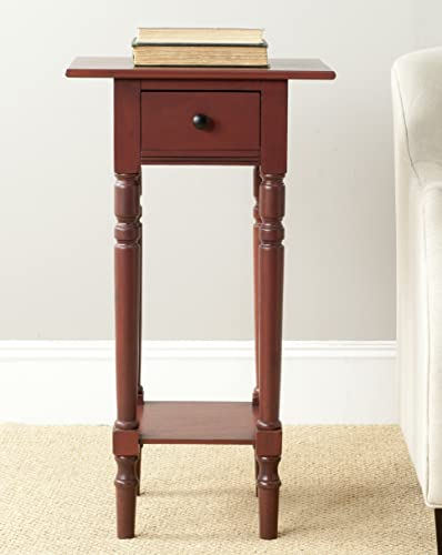 Safavieh American Homes Collection Sabrina Red End Table