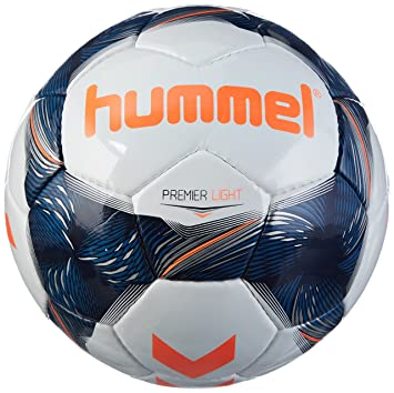 hummel Niños Premier Light FB Fútbol, White/Vintage Indigo/Naranja ...