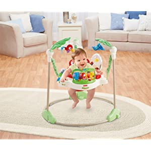 Fisher-Price Rainforest Jumparoo - Best baby Jumpers