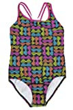 Amazon Price History for:Speedo Big Girls'  Youth Solid Splice Cross-Back One-Piece Swimsuit