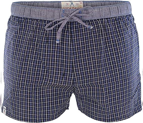 Luca David Olden Glory Damen Pyjama-Pants mit Karo-Muster