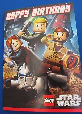Lego Star Wars Happy Birthday Card Amazon Electronics