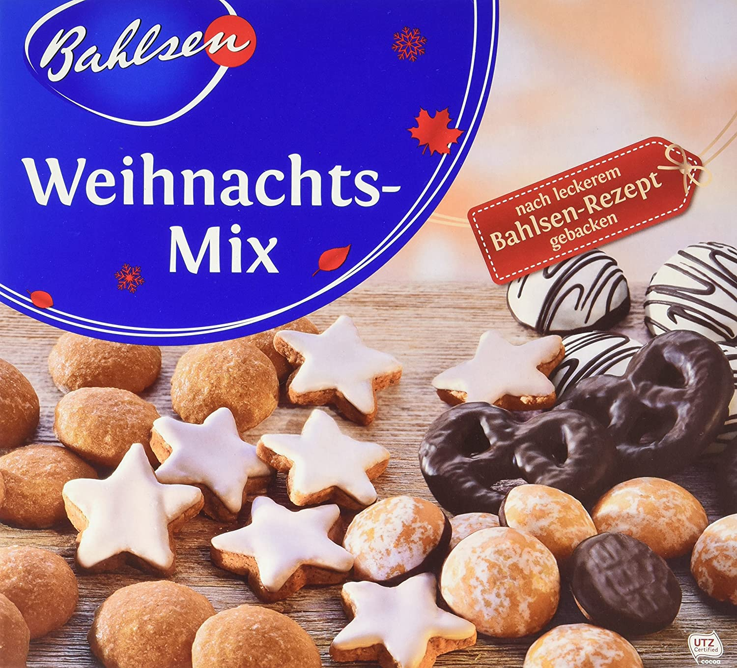 Bahlsen Weihnachts-Mix, 5er Pack (5 x 500 g): Amazon.de ...