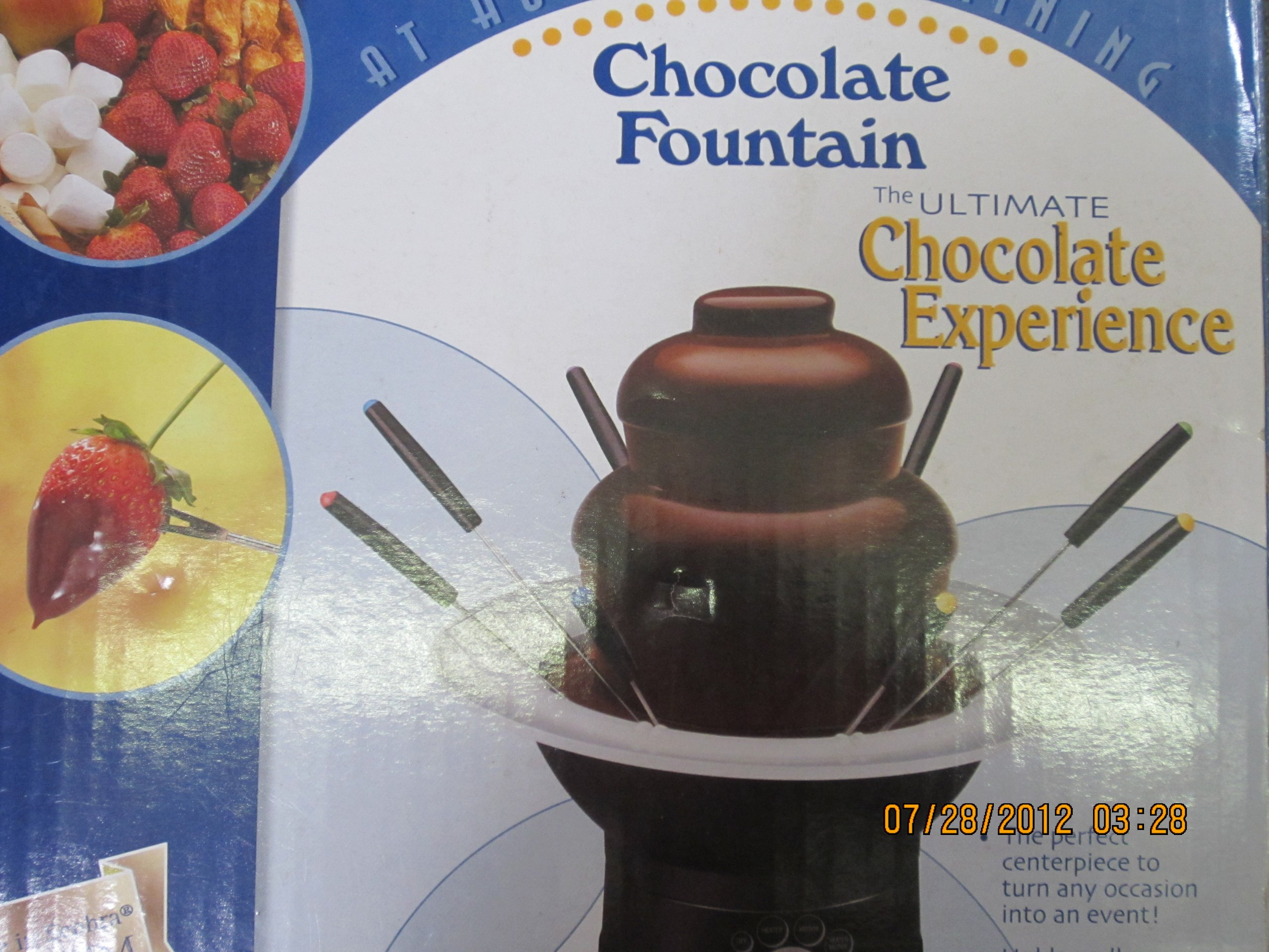 Rival Electric Chocolate Fountain with Fondue Skewers