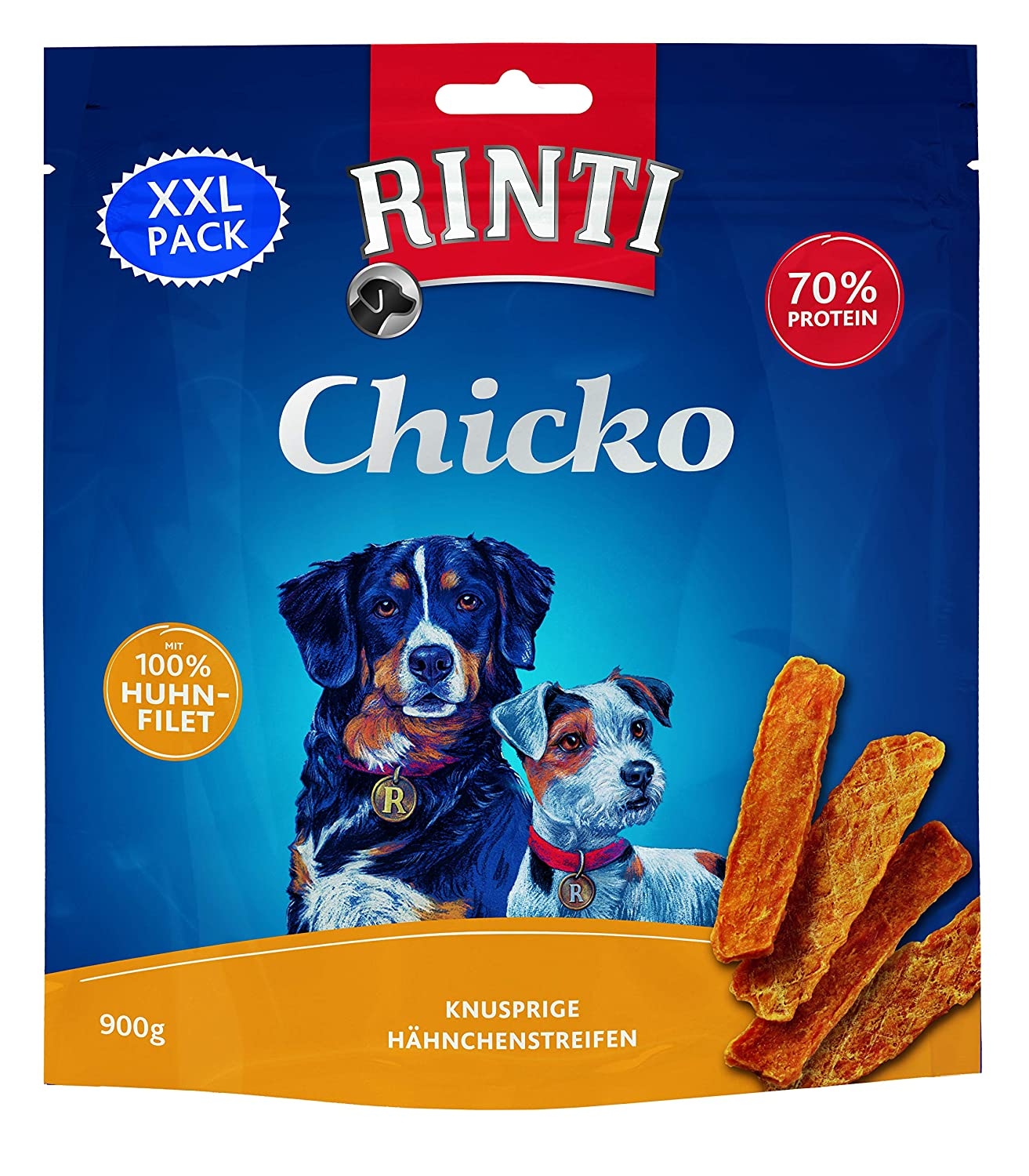 Rinti Extra–Chicko Poule XXL de Pack, 1er Pack (1x 900g) FINNERN 91366