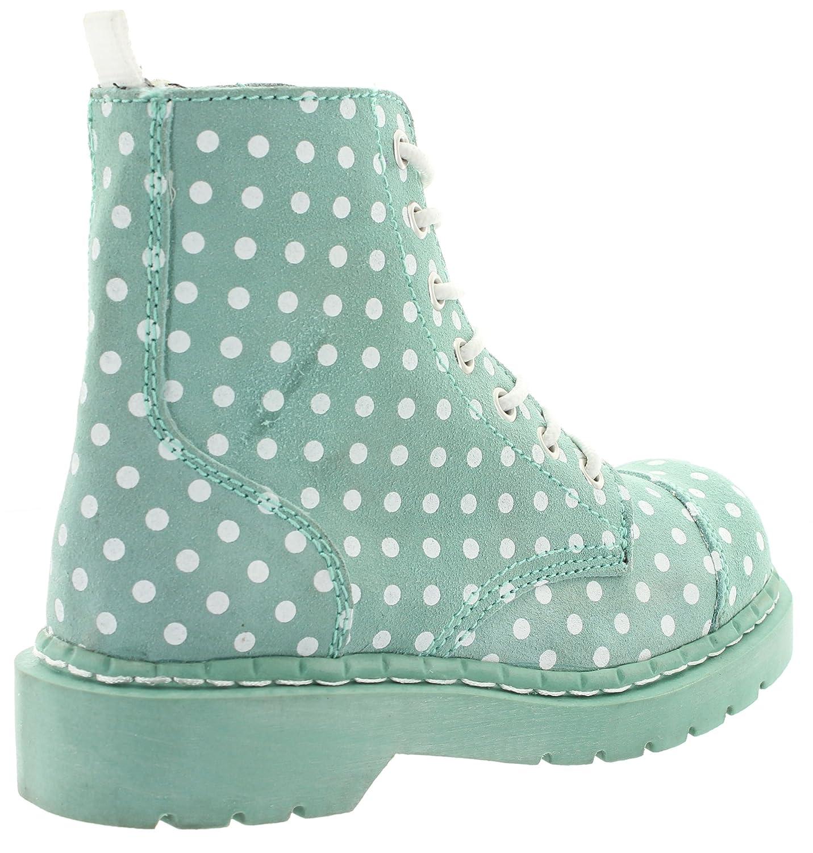 T.U.K. Women s Boots Green Mint Green Size  3.5  Amazon.co.uk  Shoes ... 7d9203fa3