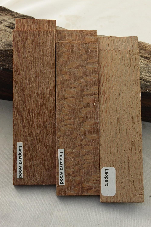 Payne Bros Custom Knives 5 INCH Leopard Wood Scale