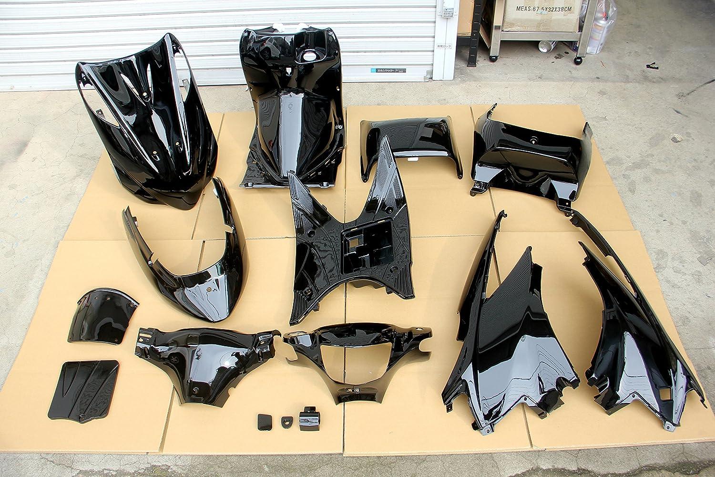 アドレスV125 G CF46A 外装 内装 インナー カウル ブラック 艶あり 黒 一式 セット キット   B079ZR127F