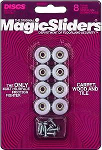 "Magic Sliders 08200 Screw-On Floor Slide 3/4"" Round"
