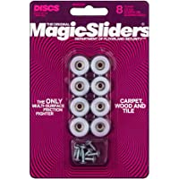 "Magic Sliders 08200 Screw-On Floor Slide 3/4"" Round"