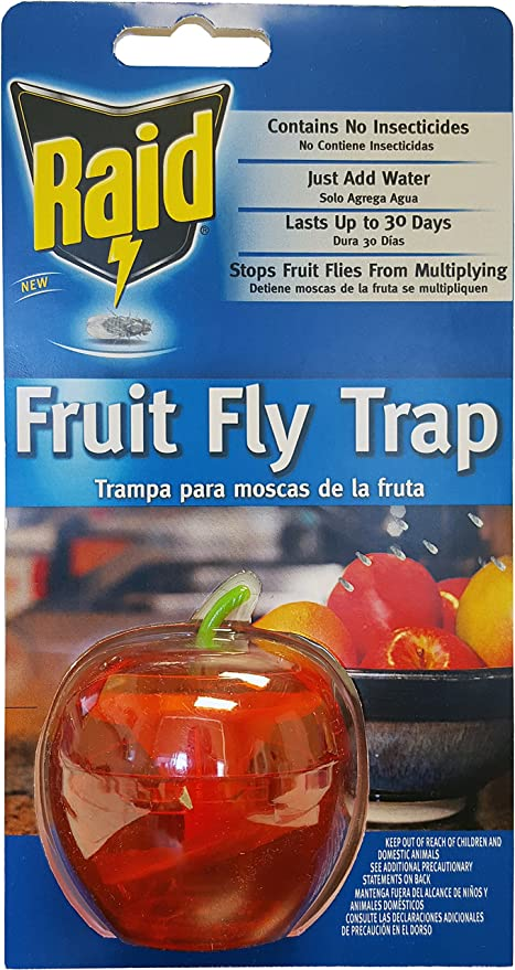 Raid FFTA Fruit Fly Trap