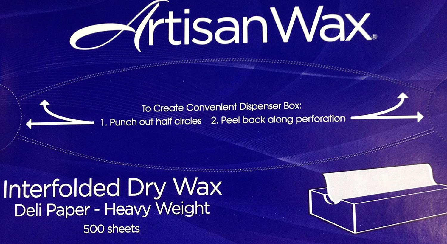 Artisan Wax - 10in x 10.75in - Wax Paper Sheets - Box of 500 Sheets