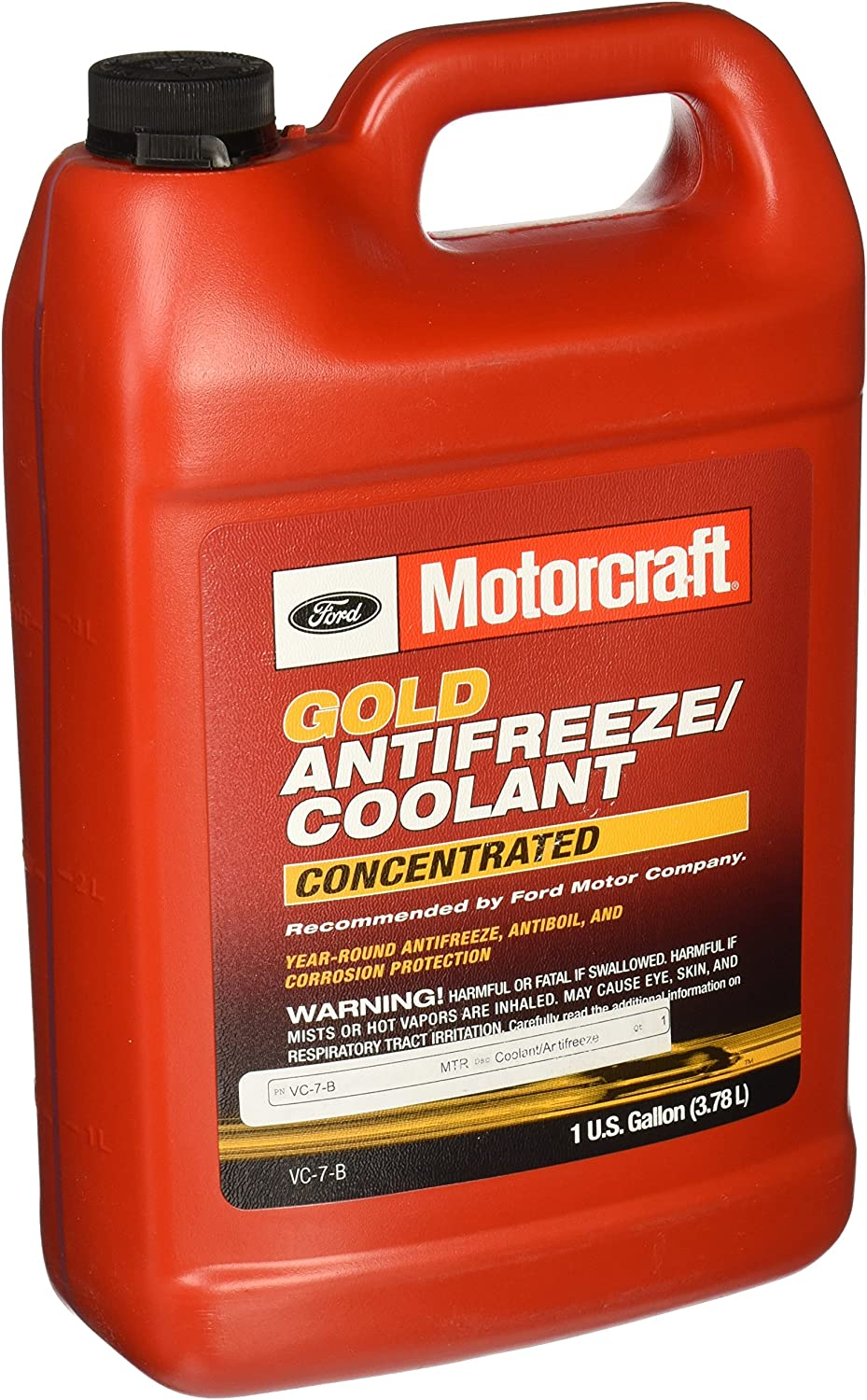 Amazon Com Motorcraft Vc7b Gold Antifreeze Automotive