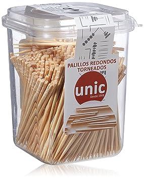 Unic Palillos Redondos Torneados - 550 Unidades: Amazon.es: Amazon Pantry