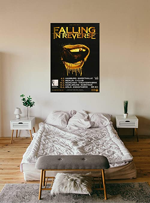 """004 Falling In Reverse American Rock Band Music Stars 33/""""x24/"""" Poster"""