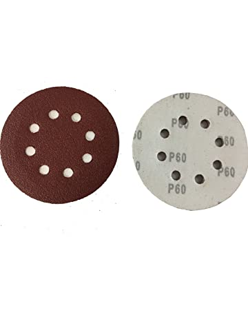 50 – Disco de lija (Diámetro: 125 mm, grano 60 para lijadoras excéntricas
