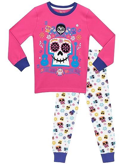 Disney - Pijama para niñas - Coco - Ajuste Ceñido: Amazon.es: Ropa y accesorios
