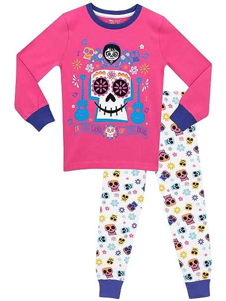 Disney - Pijama para niñas - Coco - Ajuste Ceñido - 10 - 11 Años