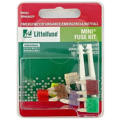 Littelfuse 094363 MINI Fuse Emergency Kit: Automotive