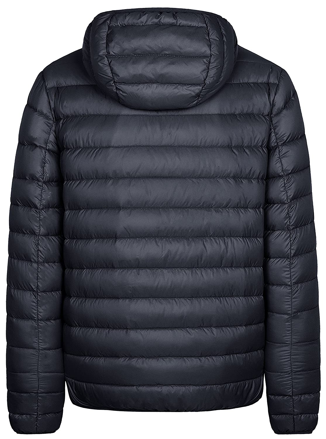 f1c074da6d1 Wantdo Men's Hooded Packable Light Weight Down Puffer Jacket at Amazon Men's  Clothing store: